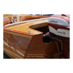 Wooden Boat and Nomad Motor Photography Posters