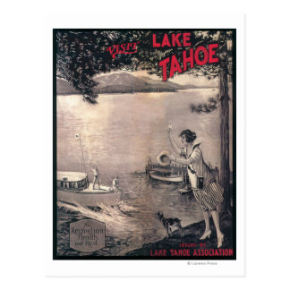 Wooden Boat Poster Postcards