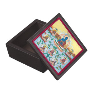 WOODEN BOX - The 8 Medicine Buddhas for Healing