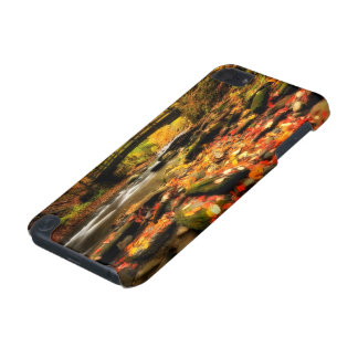 Wooden Bridge and Creek in Fall iPod Touch (5th Generation) Case