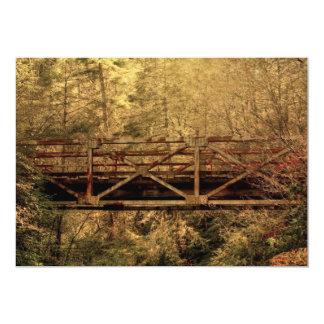 Wooden Bridge Card