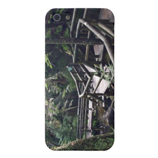 Wooden bridge in the forest iPhone 5 cover