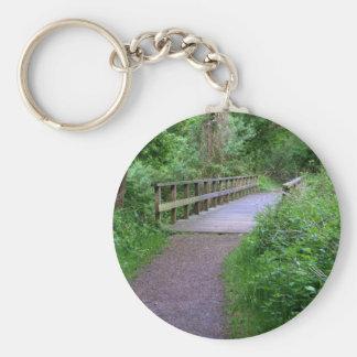 Wooden Bridge Keychains