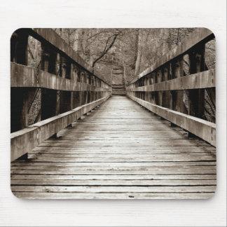 Wooden Bridge Mousepad