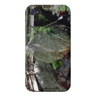Wooden bridge over the water iPhone 4 cover