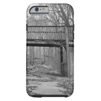 Wooden Bridge over Trail Tough iPhone 6 Case