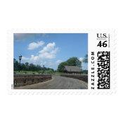 Wooden Bridge Postage stamp