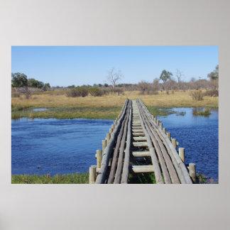 WOODEN BRIDGE PRINT