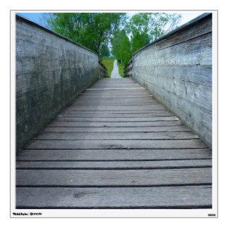 Wooden Bridge Wall Decal