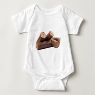 Wooden-briquettes Baby Bodysuit