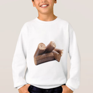 Wooden-briquettes Sweatshirt
