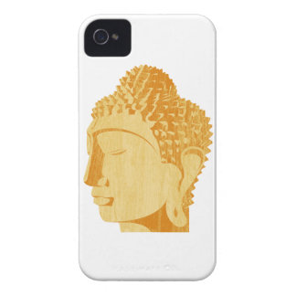 Wooden Buddha Blackberry Case