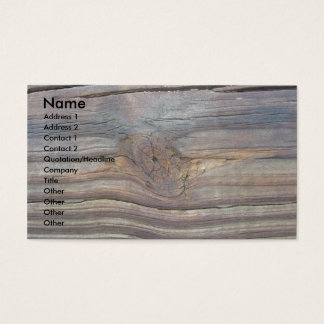 Wooden Business Card 2