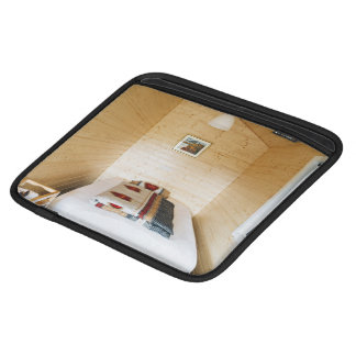 Wooden Cabin Sleeve For iPads