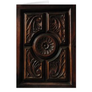 Wooden Carving Dia del Padre