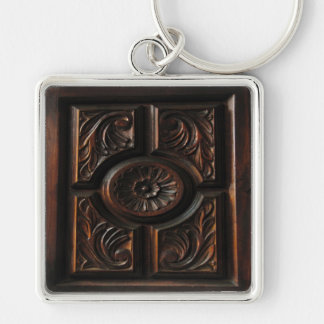 Wooden Carving Keychain