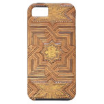 Wooden Ceiling with Golden Stars The Alhambra iPhone 5/5S Cover