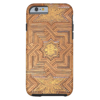 Wooden Ceiling with Golden Stars The Alhambra Tough iPhone 6 Case