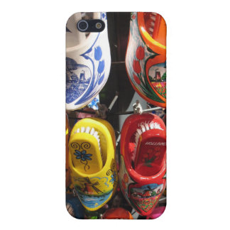 Wooden Clogs from Amsterdam iPhone SE/5/5s Cover