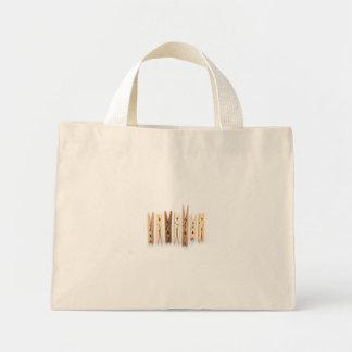 """Wooden Clothespins"" Bag"