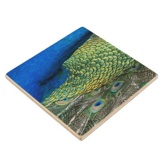 Wooden Coaster - Peacock - Venezuela