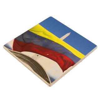 Wooden Coaster - Venezuela - amramirezy