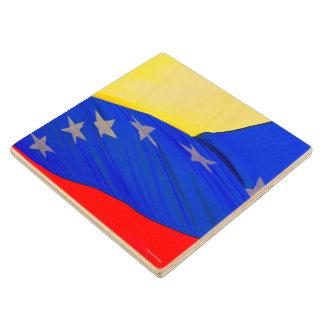 Wooden Coaster #Venezuela - Flag - amramirezy
