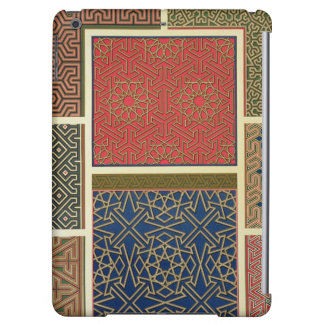 Wooden compartments and borders, from 'Arab Art as iPad Air Cover