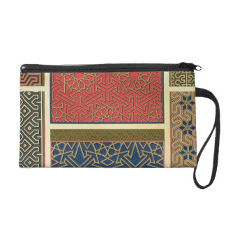 Wooden compartments and borders, from 'Arab Art as Wristlet Purse