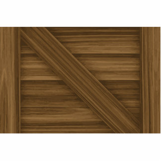 Wooden Crate Pattern Cutout