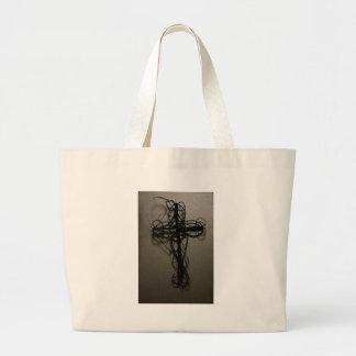 Wooden Cross Bag