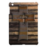 Wooden Cross Cover For The iPad Mini