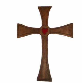 Wooden Cross Cutout