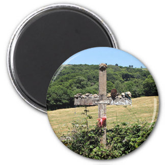 Wooden cross, El Camino, Spain Magnet