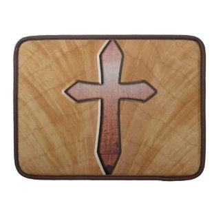 Wooden Cross Sleeves For MacBook Pro
