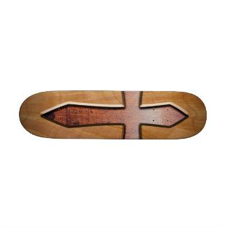 Wooden Cross Skateboard Deck