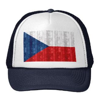 Wooden Czech Flag Trucker Hat