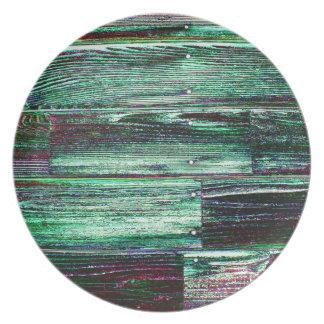 Wooden Digital Realism Plates