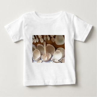 Wooden Dishes Baby T-Shirt