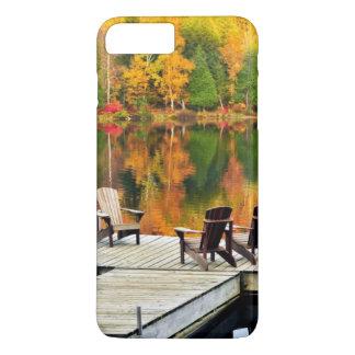 Wooden Dock On Autumn Lake iPhone 8 Plus/7 Plus Case