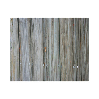 wooden dock planks with screws gallery wrap canvas