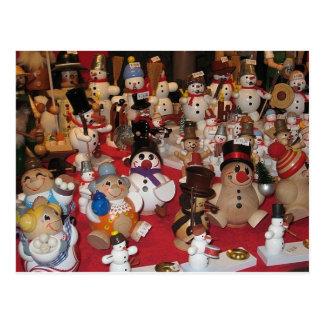 Wooden Dolls Postcard