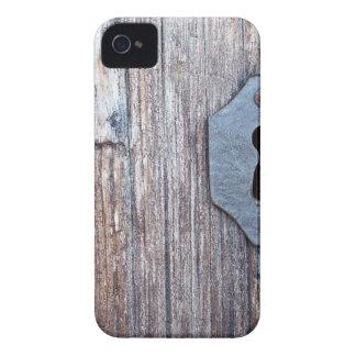 Wooden Door iPhone 4 Case-Mate Cases