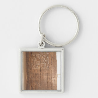 Wooden door from tomb of Khonsuhotep New Keychain