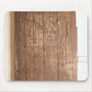 Wooden door from tomb of Khonsuhotep New Mouse Pad