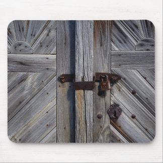Wooden Door Mouse Pad