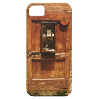 Wooden door of a house, Monteriggioni, Siena iPhone 5 Covers