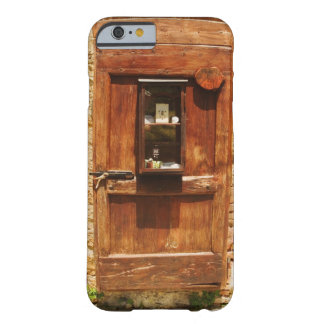 Wooden door of a house, Monteriggioni, Siena Barely There iPhone 6 Case