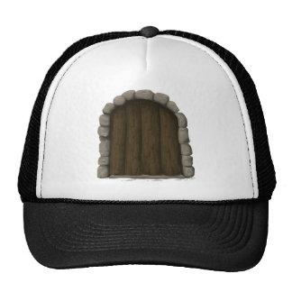 Wooden door trucker hat