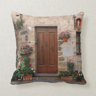 Wooden Door Tuscany Italy Personalized